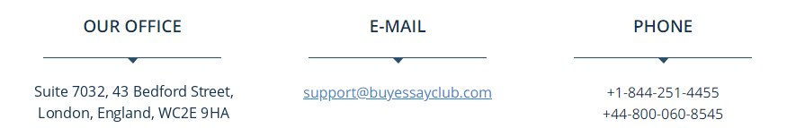 BuyEssayClub.com Support