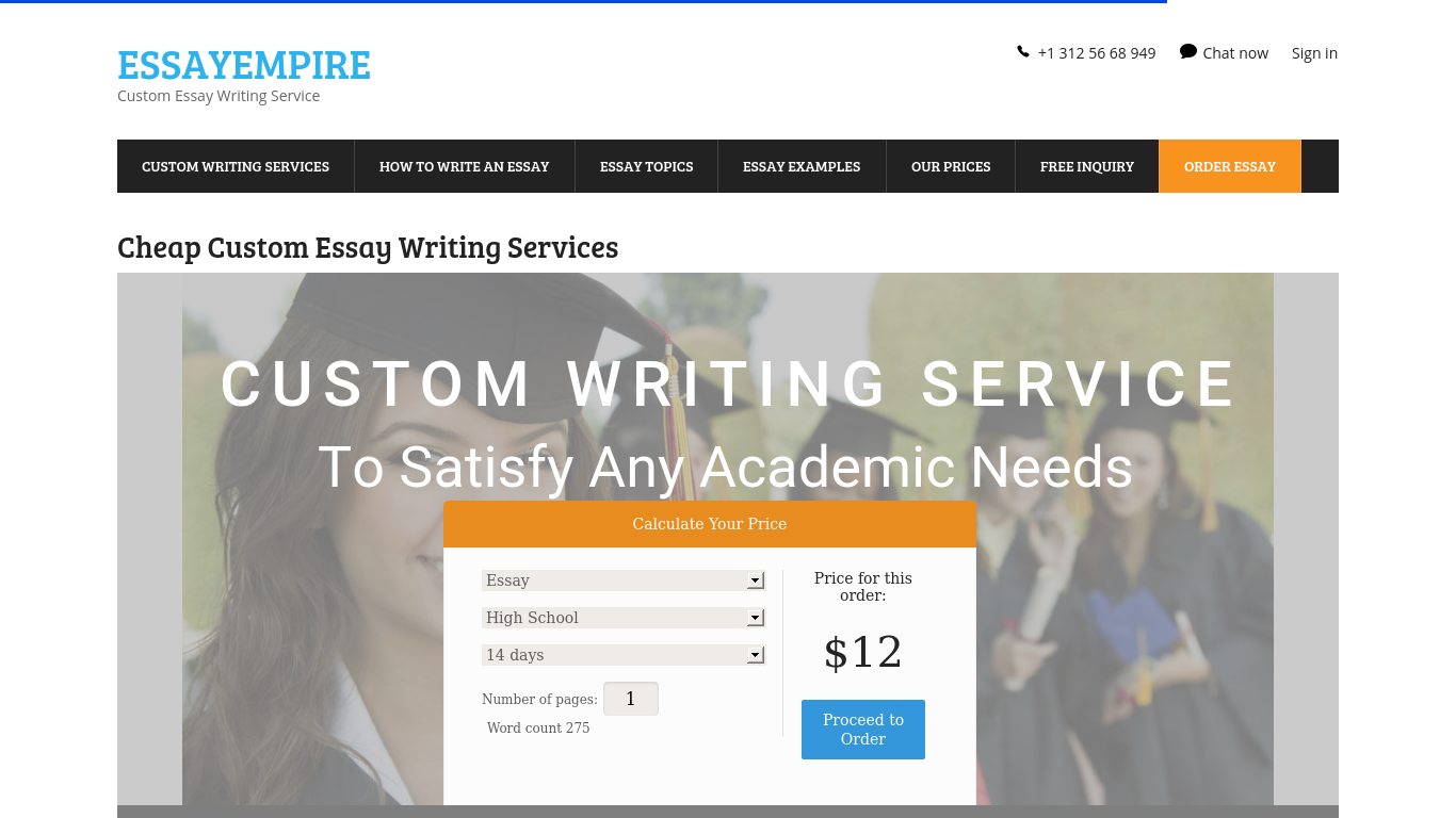 EssayEmpire.com Review
