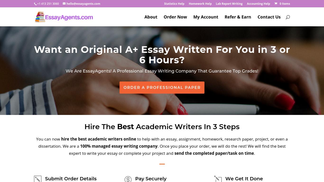 EssayAgents.com Review